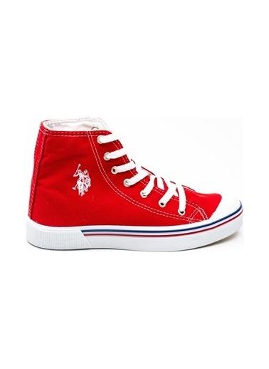 U.S. Polo Assn. Kadın Ayakkabı Penelope High 100910640 Kırmızı